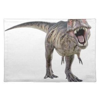 Tyrannosaurus Rex Roaring Towards the Front Cloth Placemat