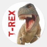 Tyrannosaurus Rex Round Sticker