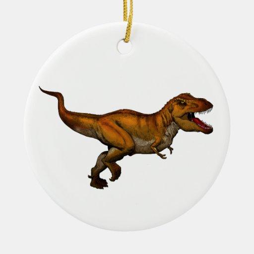 Tyrannosaurus Rex Running T-Rex Christmas Ornament