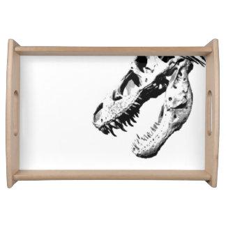 Tyrannosaurus rex serving tray