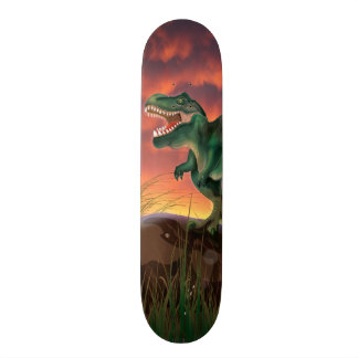 Tyrannosaurus Rex Skateboard Deck