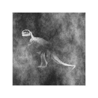 Tyrannosaurus Rex Skeleton Canvas Print