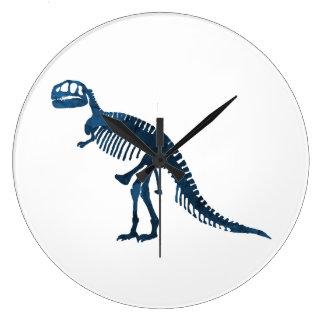 Tyrannosaurus Rex Skeleton Large Clock