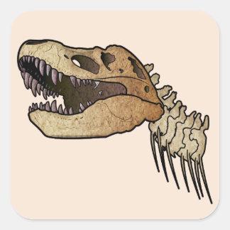 Tyrannosaurus Rex Square Sticker