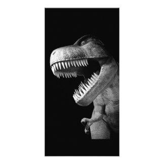 Tyrannosaurus Rex Tarjeta Fotográfica Personalizada