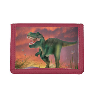 Tyrannosaurus Rex Tri-fold Wallet