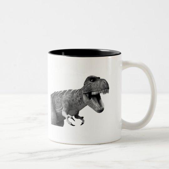 Tyrannosaurus Rex Two-Tone Coffee Mug