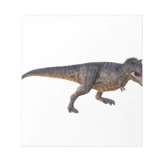 Tyrannosaurus-Rex with Yellow Coloring Notepad