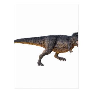 Tyrannosaurus-Rex with Yellow Coloring Postcard