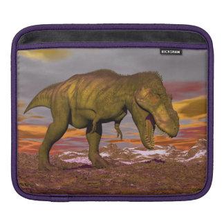 Tyrannosaurus roaring - 3D render iPad Sleeve