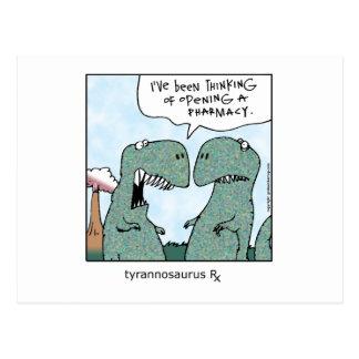 Tyrannosaurus Rx Postcard