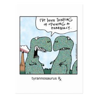 Tyrannosaurus Rx Postal
