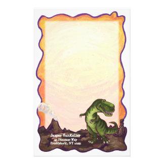 Tyrannosaurus Stationery