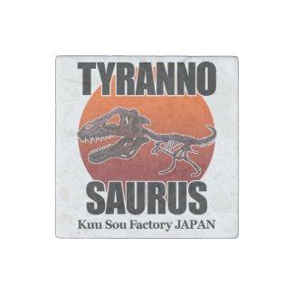 Tyrannosaurus Stone Magnet