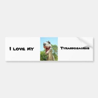 Tyrannosaurus T-Rex Dinosaur Bumper Sticker