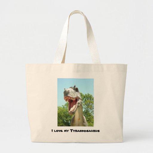 Tyrannosaurus T-Rex Dinosaur Jumbo Tote Bag
