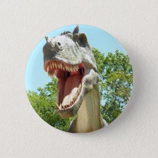 Tyrannosaurus T-Rex Dinosaur Pinback Button