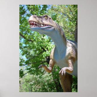 Tyrannosaurus T-Rex Dinosaur Poster