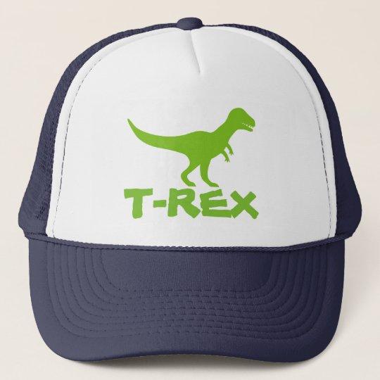 Tyrannosaurus T Rex dinosaur trucker hat for kids  725e11207411