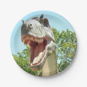 Tyrannosaurus T-Rex Paper Plate  sc 1 st  Zazzle & T Rex Plates | Zazzle