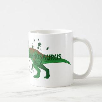 Tyrannosaurus Taza Básica Blanca