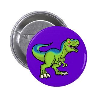 Tyrannosaurus Toon v2 Pin Redondo 5 Cm