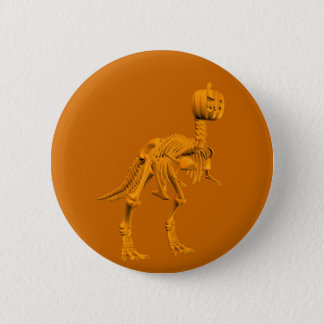 Tyrannosaurus tricktreatus pinback button