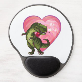Tyrannosaurus Valentine's Day Gel Mouse Pad