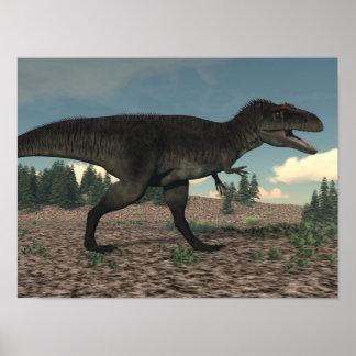 Tyrannotitan - 3D render Poster