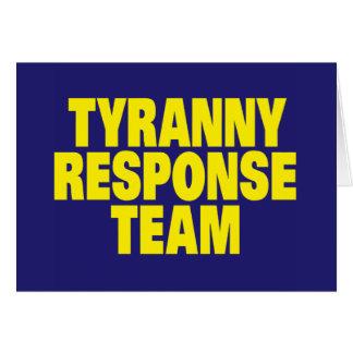 Tyranny Response Team Card