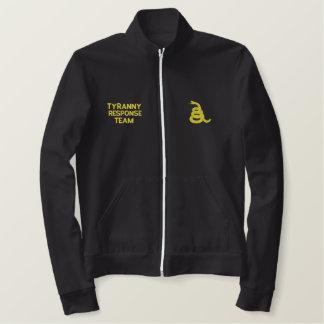 Tyranny Response Team Embroidered Fleece Jacket