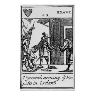 Tyrconnel Arming the Papists in Ireland Poster