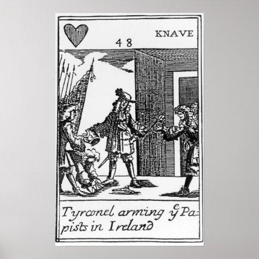 Tyrconnel que arma a los Papists en Irlanda Poster