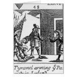Tyrconnel que arma a los Papists en Irlanda Tarjetas
