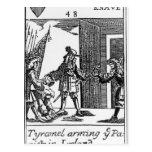Tyrconnel que arma a los Papists en Irlanda Postales