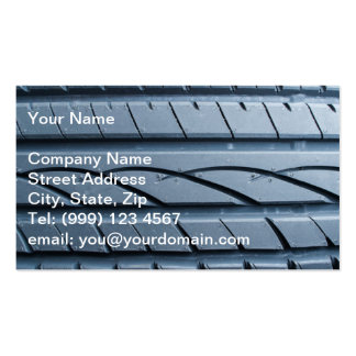 Tyre business card