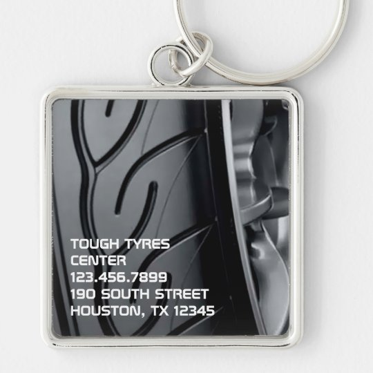 Tyre Business Large Premium Keychain