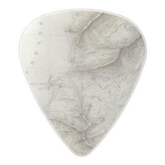 Tyre, Sidon, Israel Acetal Guitar Pick
