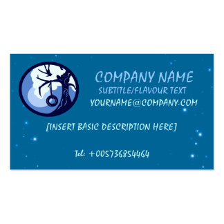 Tyre Swing Logo BUSINESS CARDS