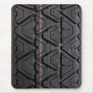 Tyre tread close up mouse pad