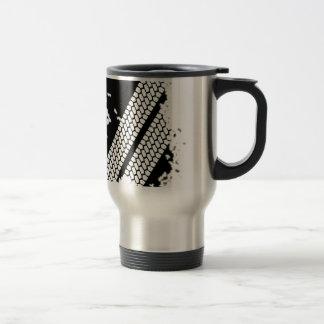 Tyre Tread Grunge Travel Mug