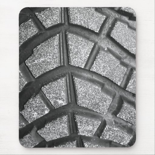 Tyre with Sand Mouse Pad