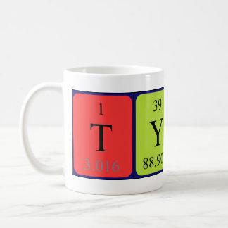 Tyrek periodic table name mug