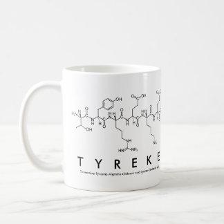 Tyreke peptide name mug