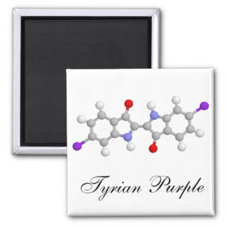 Tyrian purple magnet