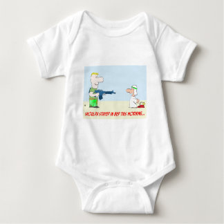 tyrmay marine corps iraq war stayed bed baby bodysuit