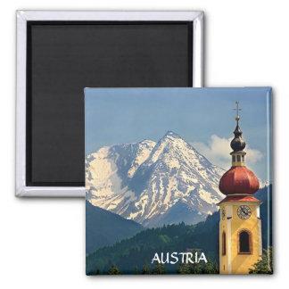 TYROL, AUSTRIA 2 INCH SQUARE MAGNET