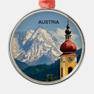 TYROL, AUSTRIA METAL ORNAMENT