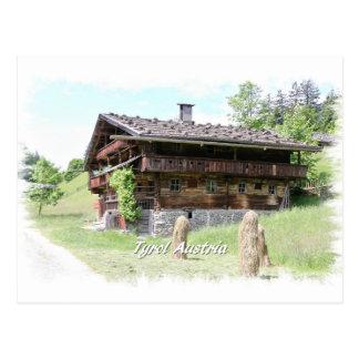 Tyrol Austria Postcard