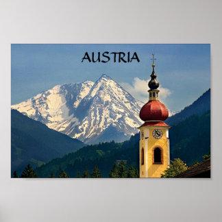 TYROL, AUSTRIA, POSTER